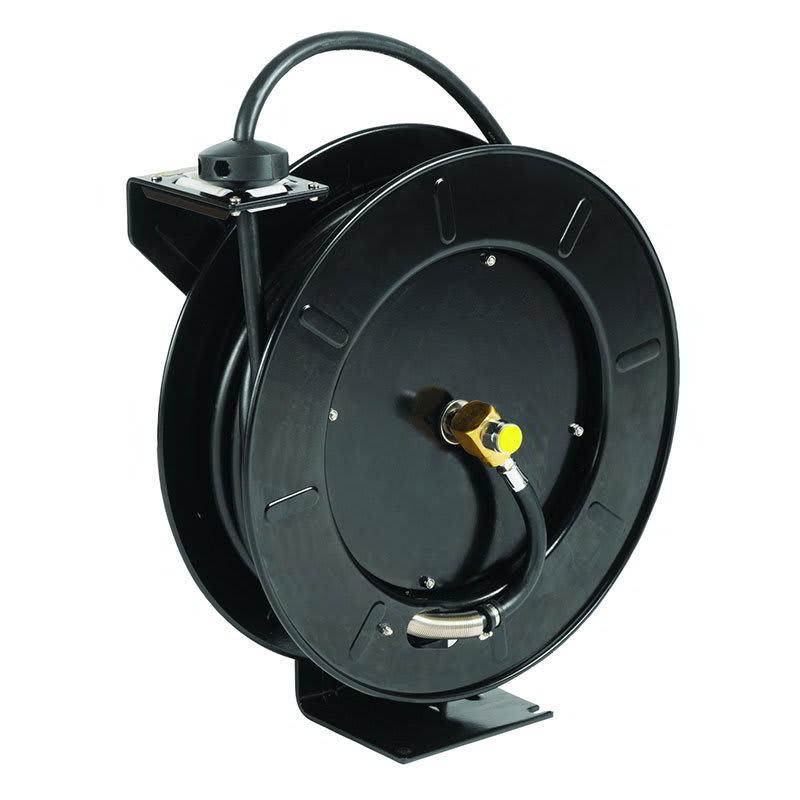 T&S 5HR-242-GH Open Hose Reel, 50-ft w/ 3-ft Hose & GH Adapter