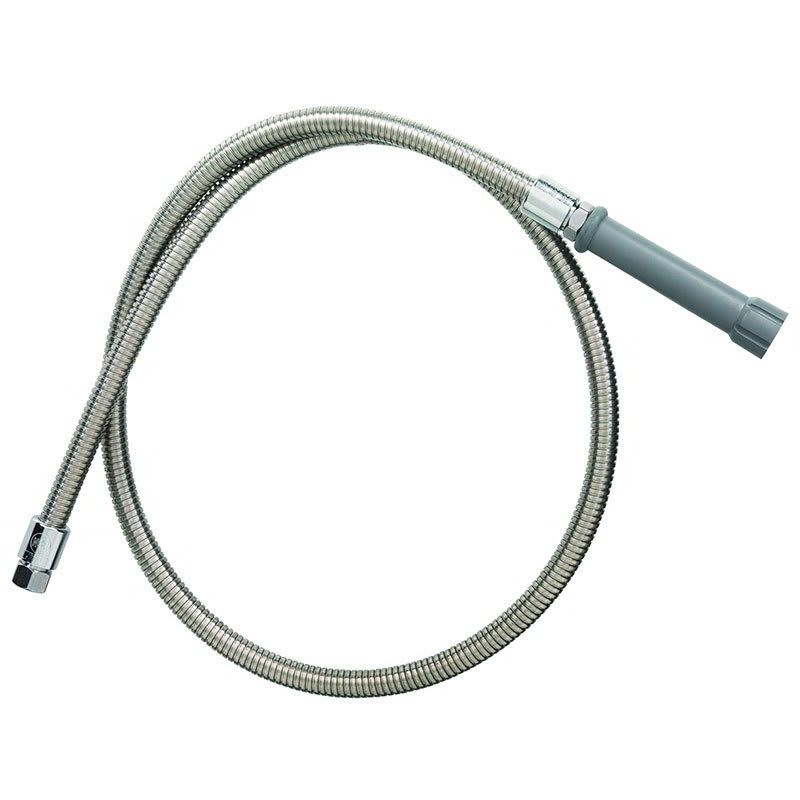 "T&S B-0050-H Hose, Stainless Steel, 50""L"
