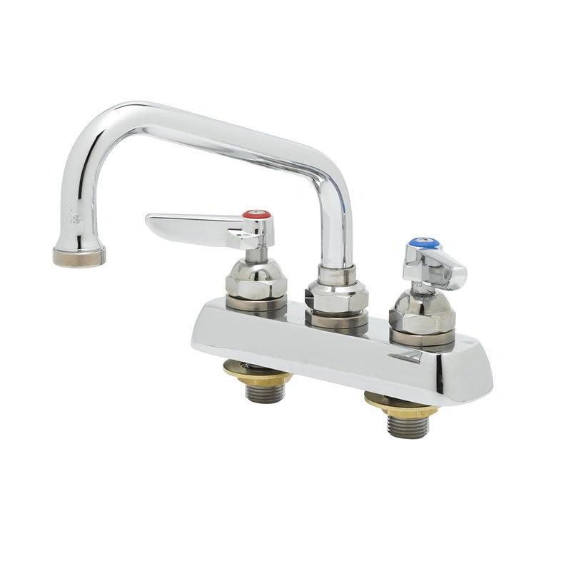 """T&S B-1101 Faucet, 8"""" Swivel Nozzle, Deck Mount"""