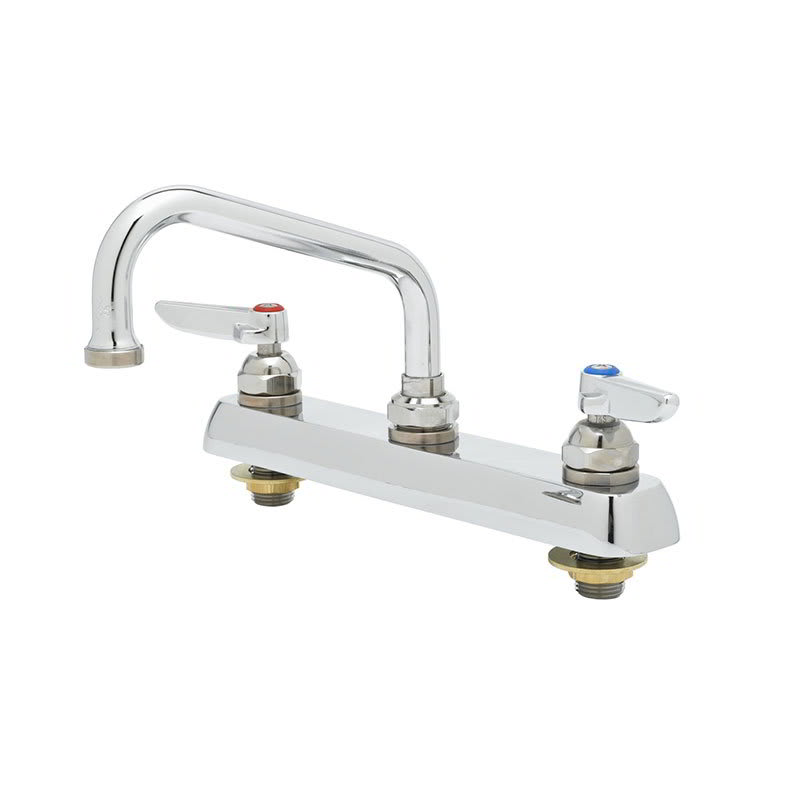 """T&S B-1120 Faucet, 6"""" Swing Nozzle, Deck Mounted"""