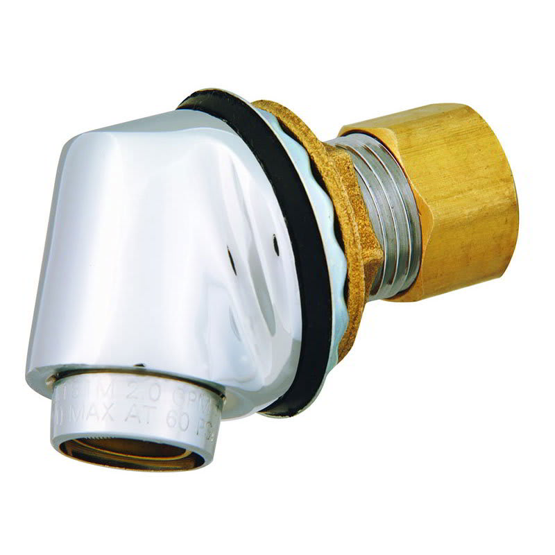 T&S B-2293 Trough Inlet Fitting w/ Removable 2.2 Gallons/Minute Aerator