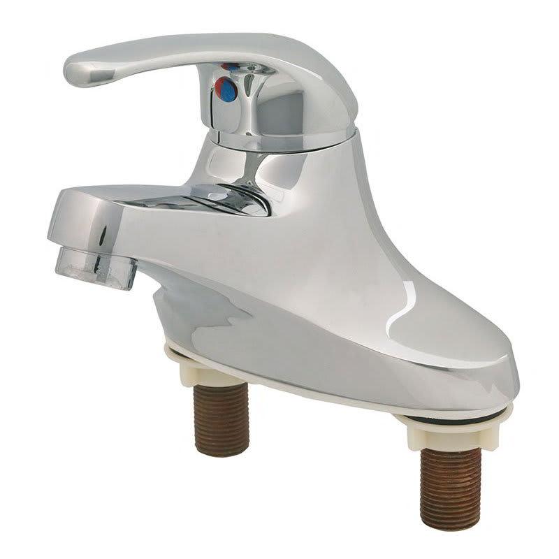 """T&S B2711 Lavatory Single Lever Faucet, 4"""" Centerset"""