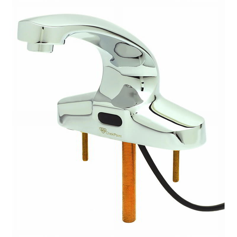 "T&S EC-3103 Electronic Faucet, Deck Mount, Spout, 4"" Centers, 100-240v/1ph"