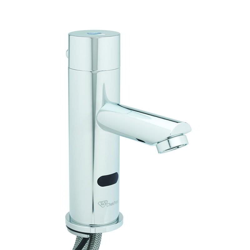 T&S EC-3106 Electronic Faucet, Deck Mount, Single Hole, Cast Spout, 100-240v/1ph