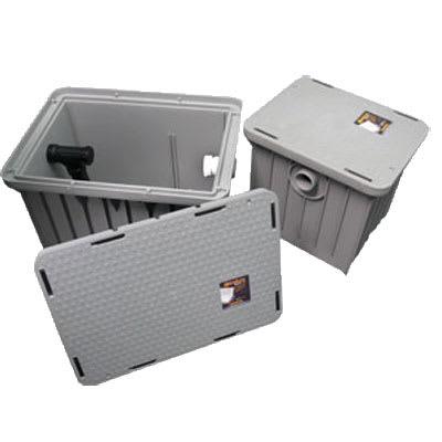 Canplas 3910PA15 Endura Plaster Trap w/ Removable Outlet Filter, 14.6 x 17.5 x 16.3
