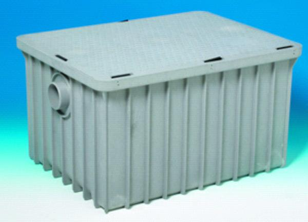 """Canplas 3925ALT03 Grease Trap w/ 3"""" Connection, Thermoplastic"""