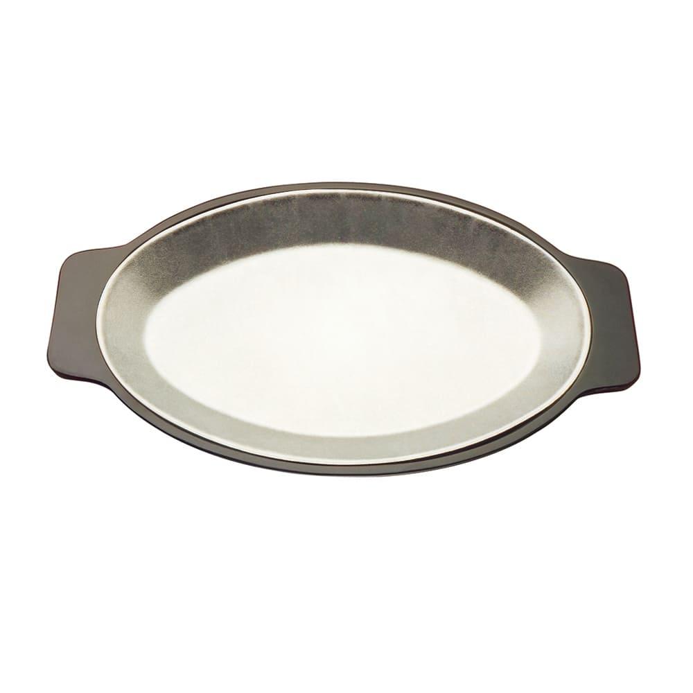 Tomlinson 1006339 Plate Underliner, Oval, Bakelite, Lightweight, Nestable, Black