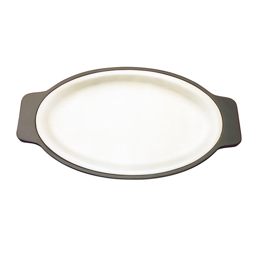 """Tomlinson 1006341 Bakelite Platter Holder for 9 3/4 x 14.5"""" Platter, Black"""