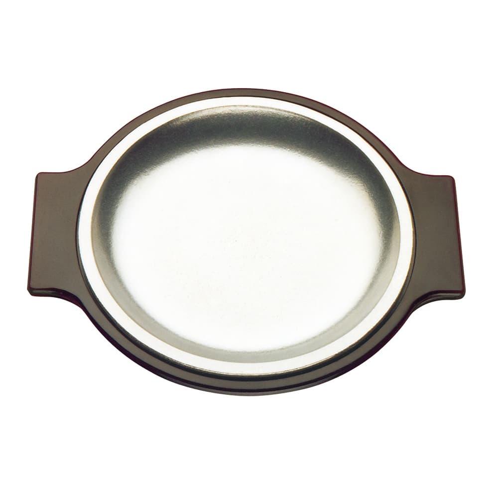 """Tomlinson 1006342 Bakelite Round Platter Holder for 10-1/4"""" Platter, Brown"""
