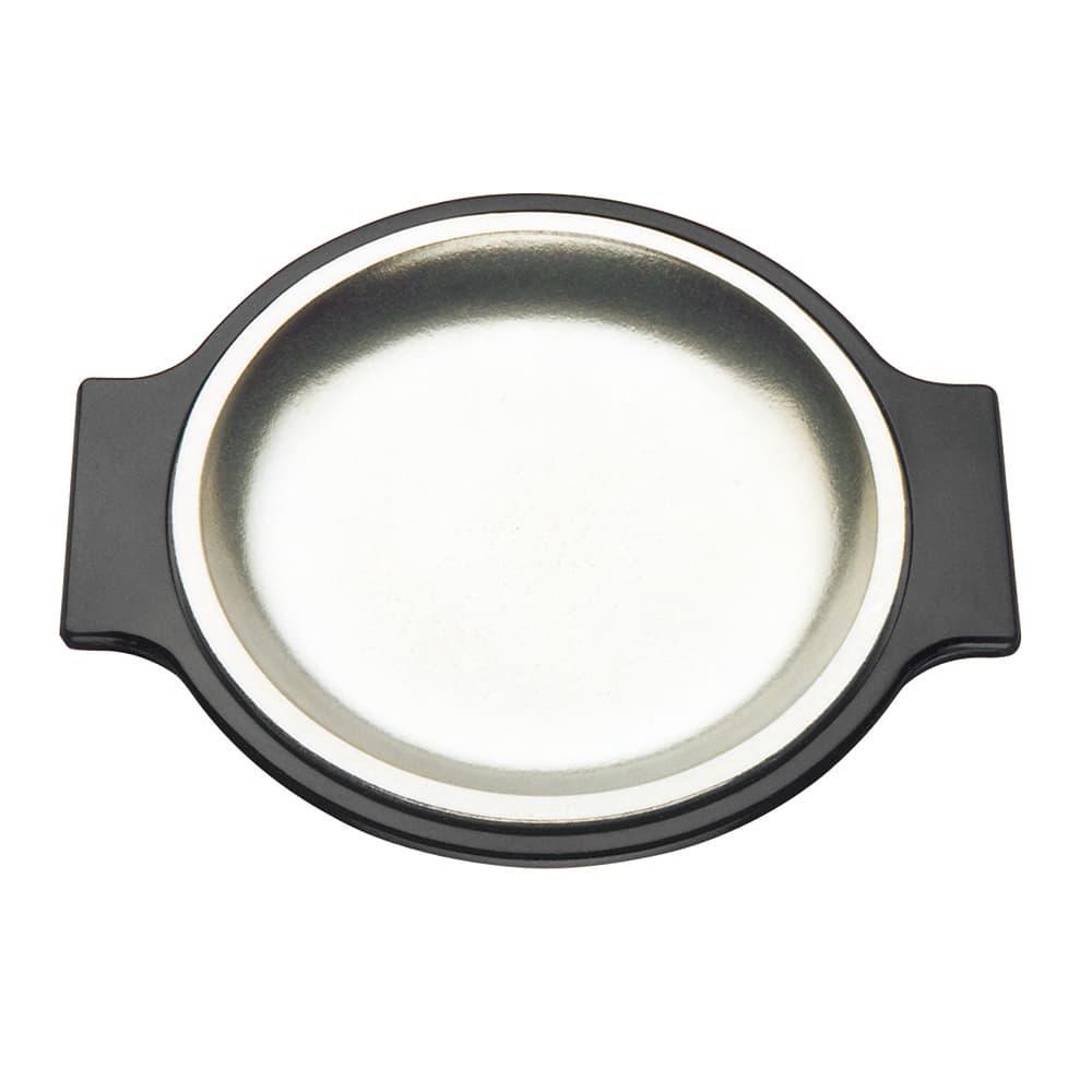"""Tomlinson 1006345 Bakelike Holder for 7-1/2"""" Round Dinner Plate, Black"""