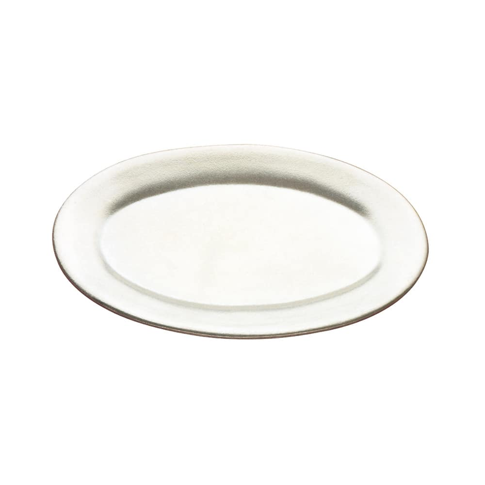 "Tomlinson 1006359 Oval Dinner Platter, 6-5/8 x 10-1/4"", Frosty Finish"