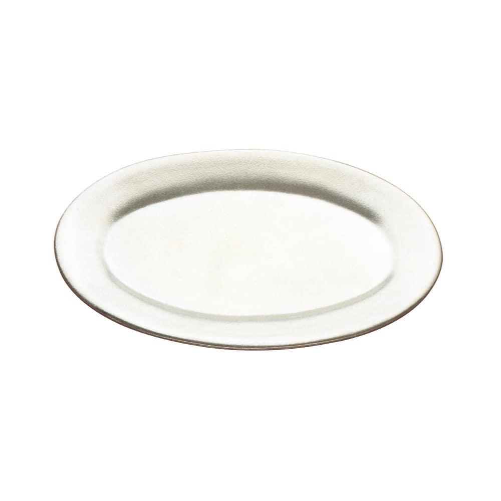 "Tomlinson 1006360 Oval Dinner Platter, 6 5/8 x 10 1/4"", Burnished Finish"