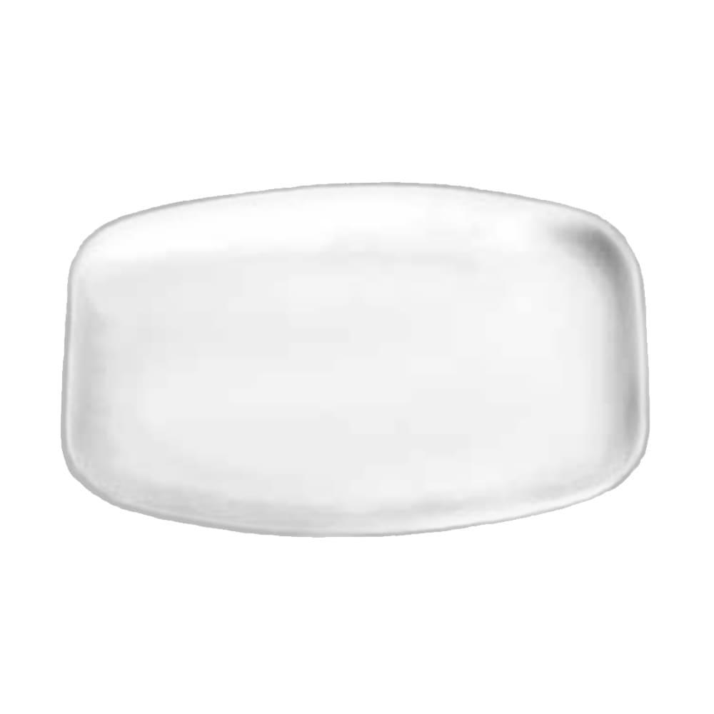 "Tomlinson 1006394 Rectangular Serving Platter, 10 7/8 x 15 1/4"", Frosty Finish"