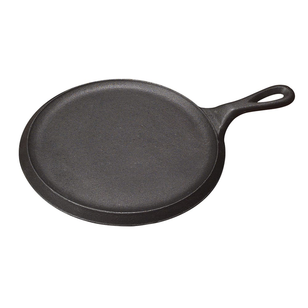 "Tomlinson 1016271 9"" Round Griddle w/ Handle, Raised, Cast Iron"