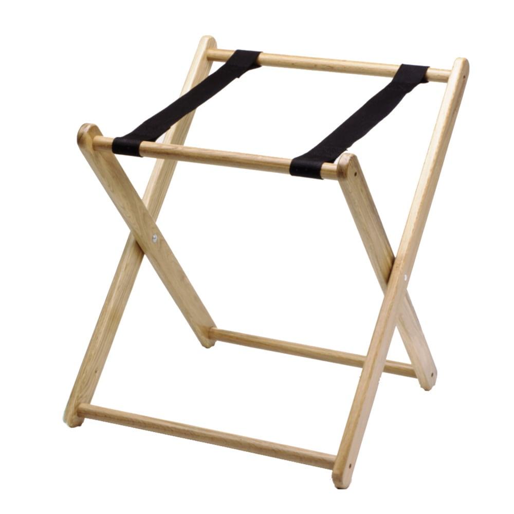 "Tomlinson 1016883 21"" Folding Infant Seat Carrier - Wood, Natural"