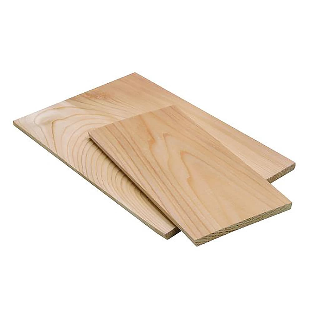 "Tomlinson 1018973 Cedar Wood Plank - 1/4 x 3-1/2 x 6-1/2""- for Cooking Over Open Flames"
