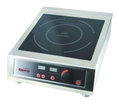 Tomlinson 1022750 Countertop Commercial Induction Cooktop w/ (1) Burner, 120v