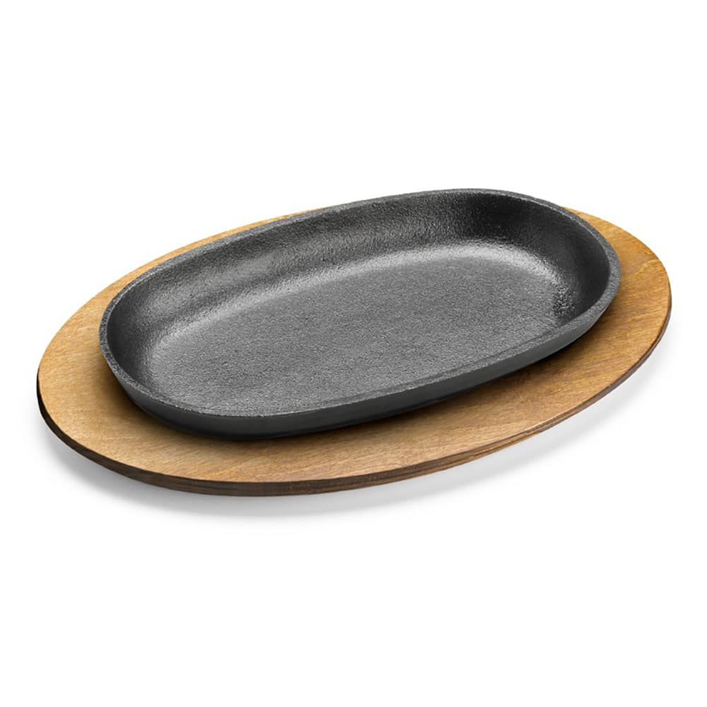"Tomlinson 1023049 Wood Underliner for 9-3/8 x 5-1/2"" Oval Skillet"