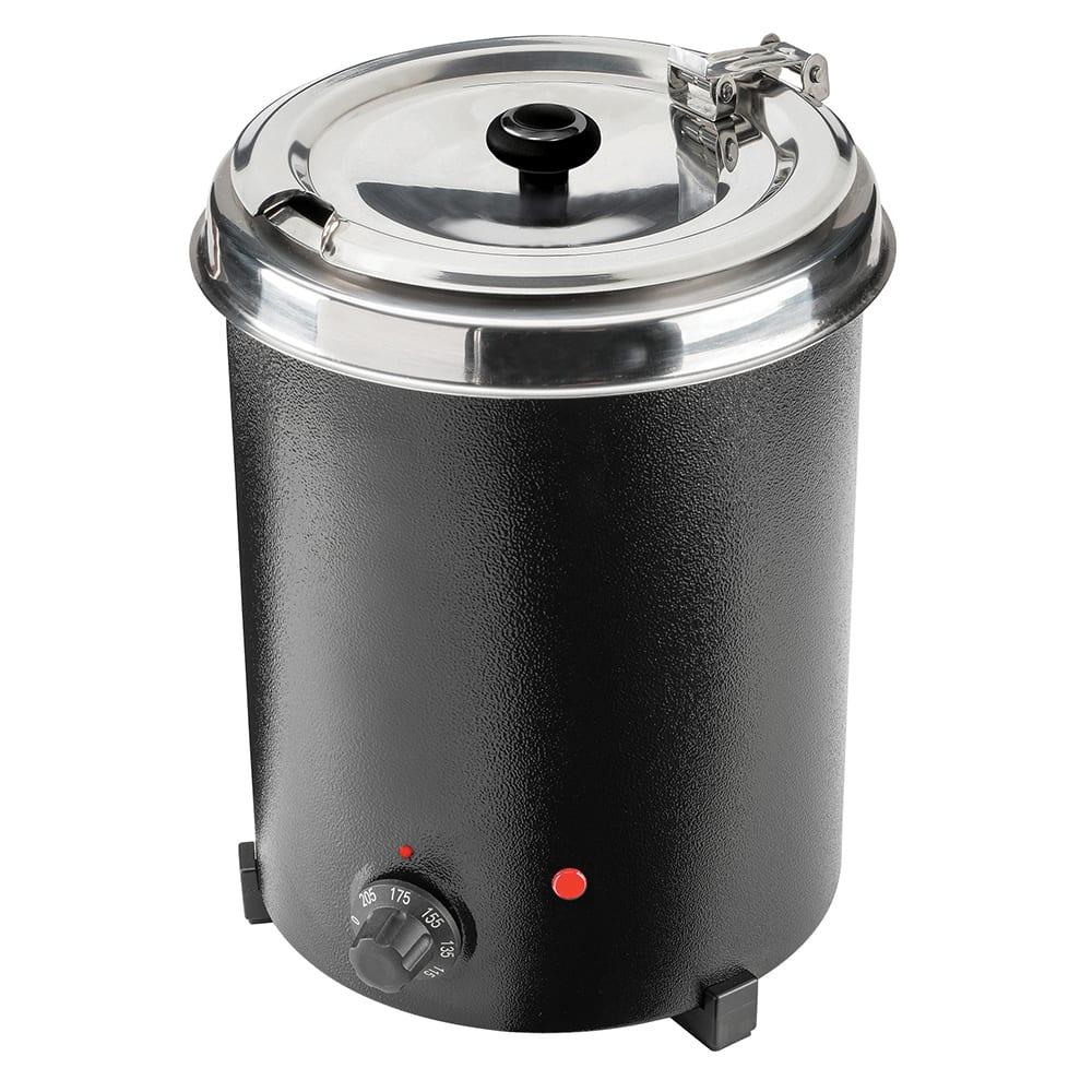 Tomlinson 1026011 5.3 qt Countertop Mini Soup Warmer w/ Thermostatic Controls - Black, 120v