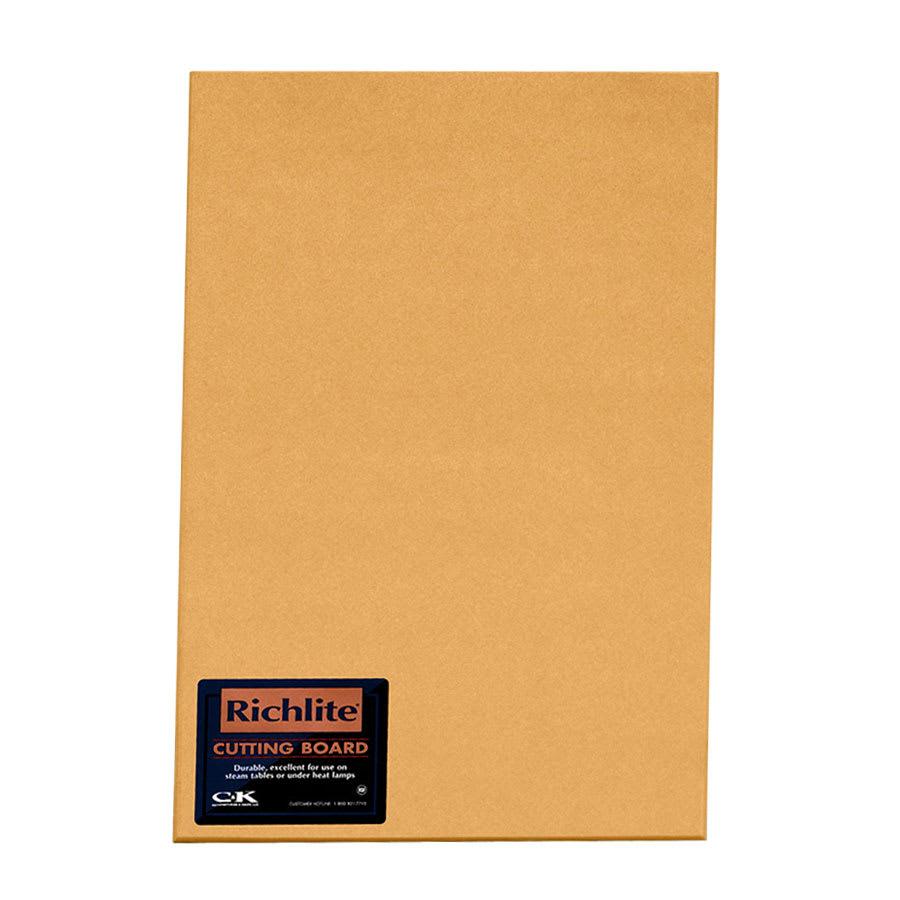 "Tomlinson 1031204 Square Edge Cutting Board, 18 x 24 x 1/4"", NSF"