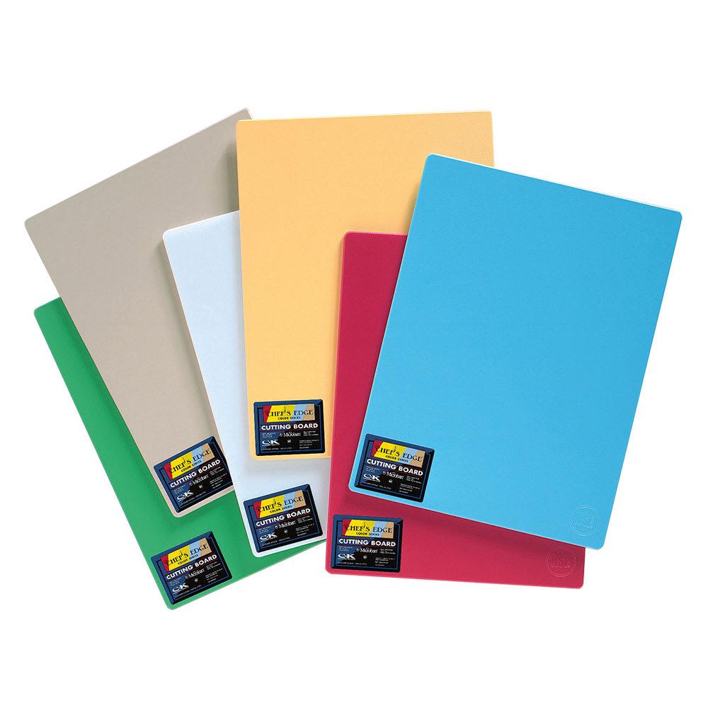 """Tomlinson 1034708 Colored Series Cutting Board, 18 x 24"""", Multi-Color"""