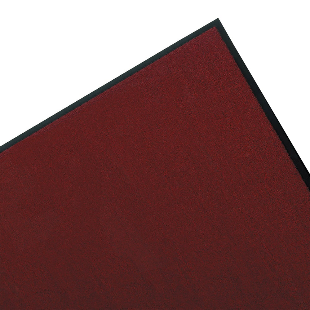 "Tomlinson 1035302 Olefin Carpet Mat w/ Vinyl Backing, 36 x 60"", Red"