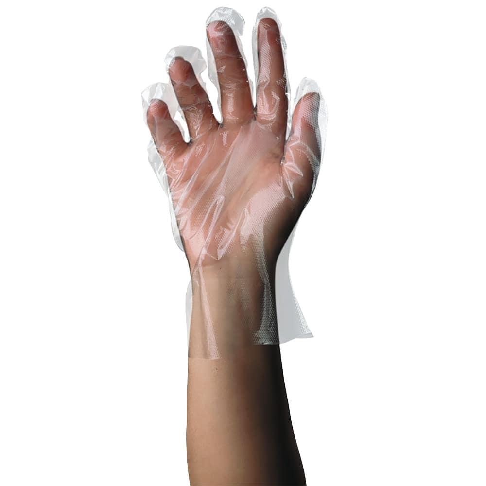 Tomlinson 1036322 Polyethylene Disposable Glove, Medium