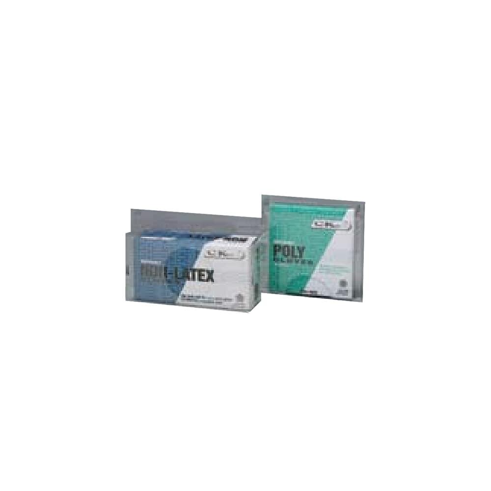 Tomlinson 1036356 Wall Mount Glove Dispenser, Holds 100 Vinyl Gloves, Clear