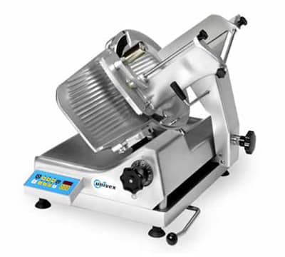"""Univex 1000S 13"""" Semi Automatic Slicer w/ Up To 99 Slice Counter"""