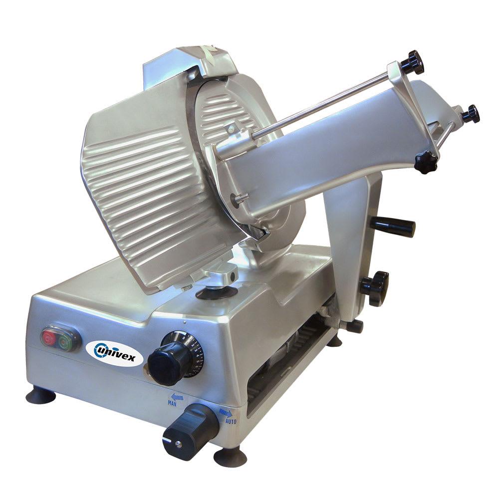"Univex 6612S Automatic Slicer w/ 12"" Blade, 40 Strokes Per Minute, Sharpener, 115v"