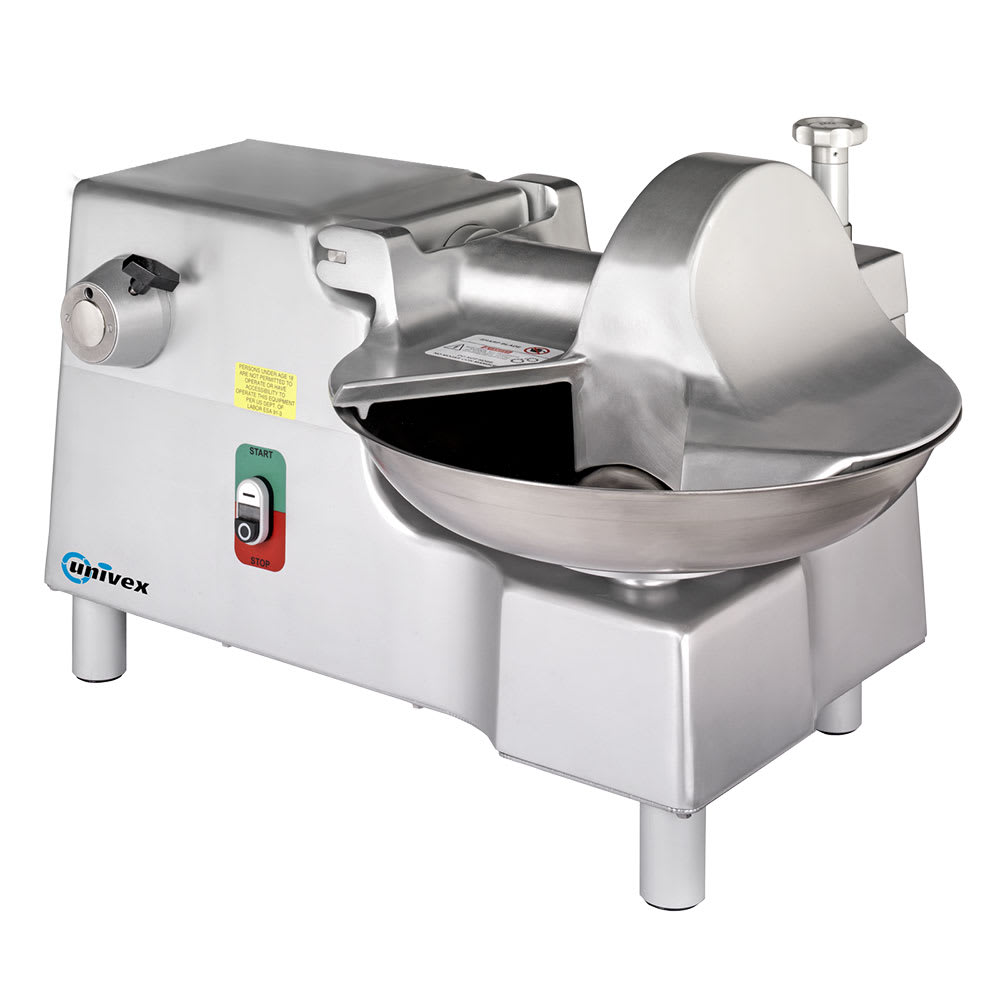 "Univex BC18 Stainless 18"" Diam. Bowl Cutter, 3,768-Cuts/min 1-HP Motor, 115v"