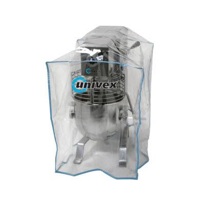 Univex CV-4 Clear Plastic Equipment Cover, for 12 qt & 20 qt Mixers