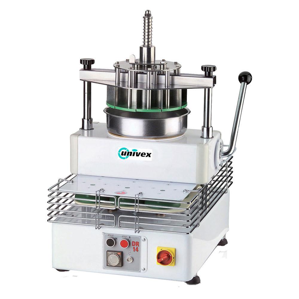 Univex DR11 Dough Divider Rounder w/ Manual Cutting, (11) 11-oz to 23-oz Portions, 115v