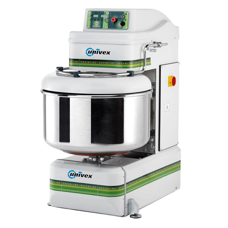 Univex GL120 180 qt Spiral Mixer w/ 2 Speeds & Digital Timer, 220/3 V