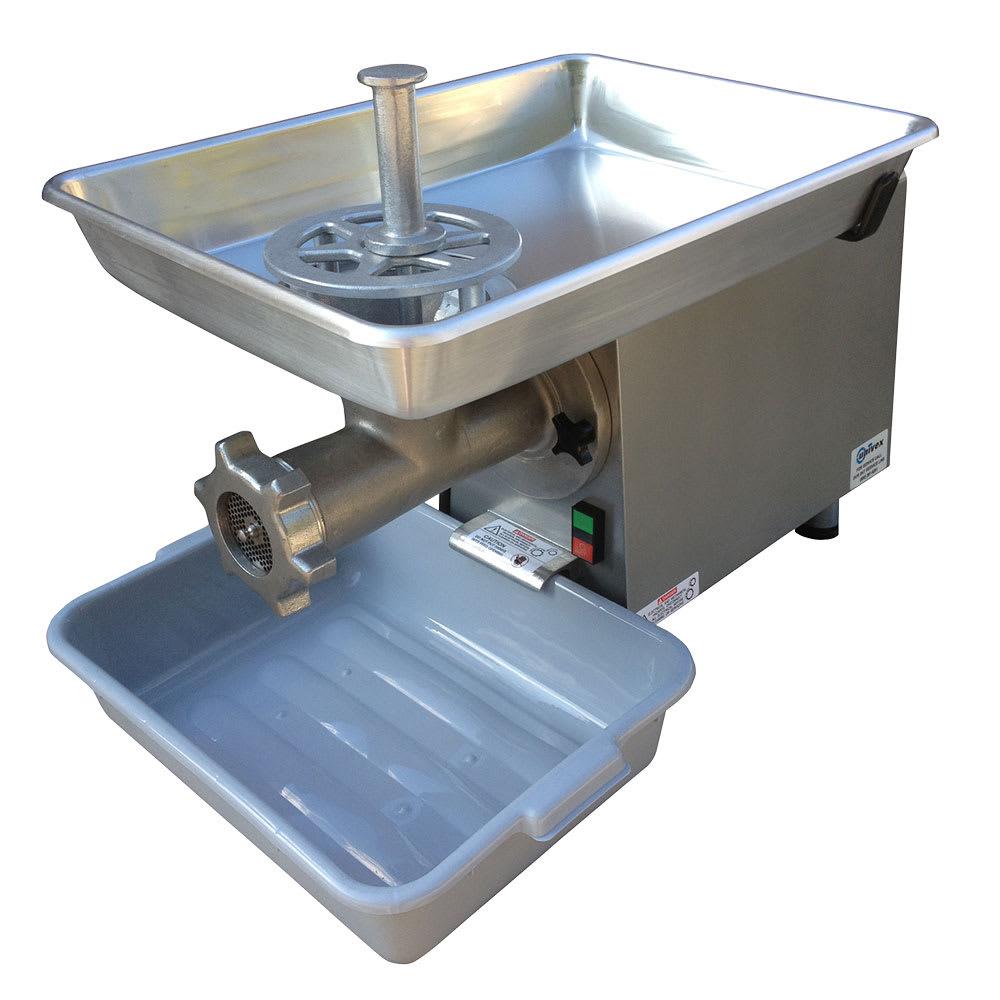 Univex MG22 Aluminum Pan & Housing Meat Grinder, 25 lbs Capacity/Minute, 115/1