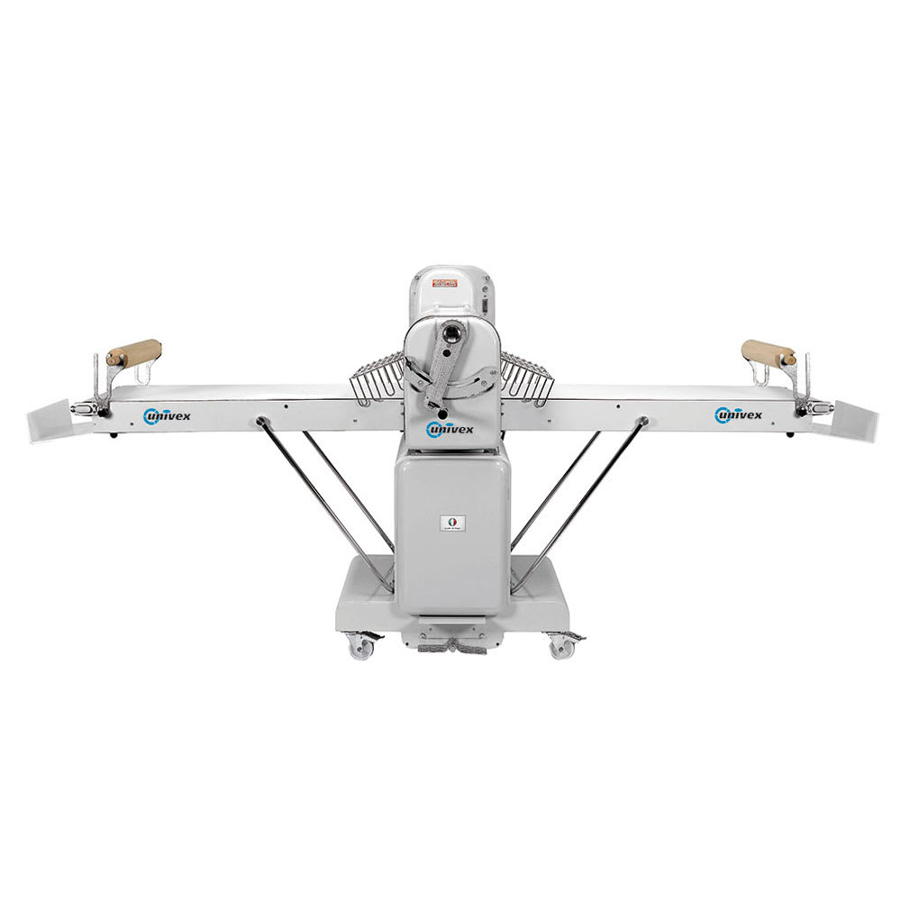 "Univex SFG 500 TM Floor Model 117-7/10"" Long Reversible Dough Sheeter, Wide Belt"
