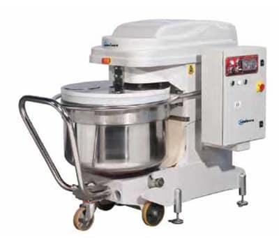 Univex SL200RB Spiral Mixer w/ 2-Speeds, Reverse & 306-qt Removable Bowl, 441-lb Dough Capacity, 220v/3ph