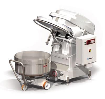 Univex SL80RB 137 qt Spiral Mixer - Floor Model, 1 hp, 220v, 3ph