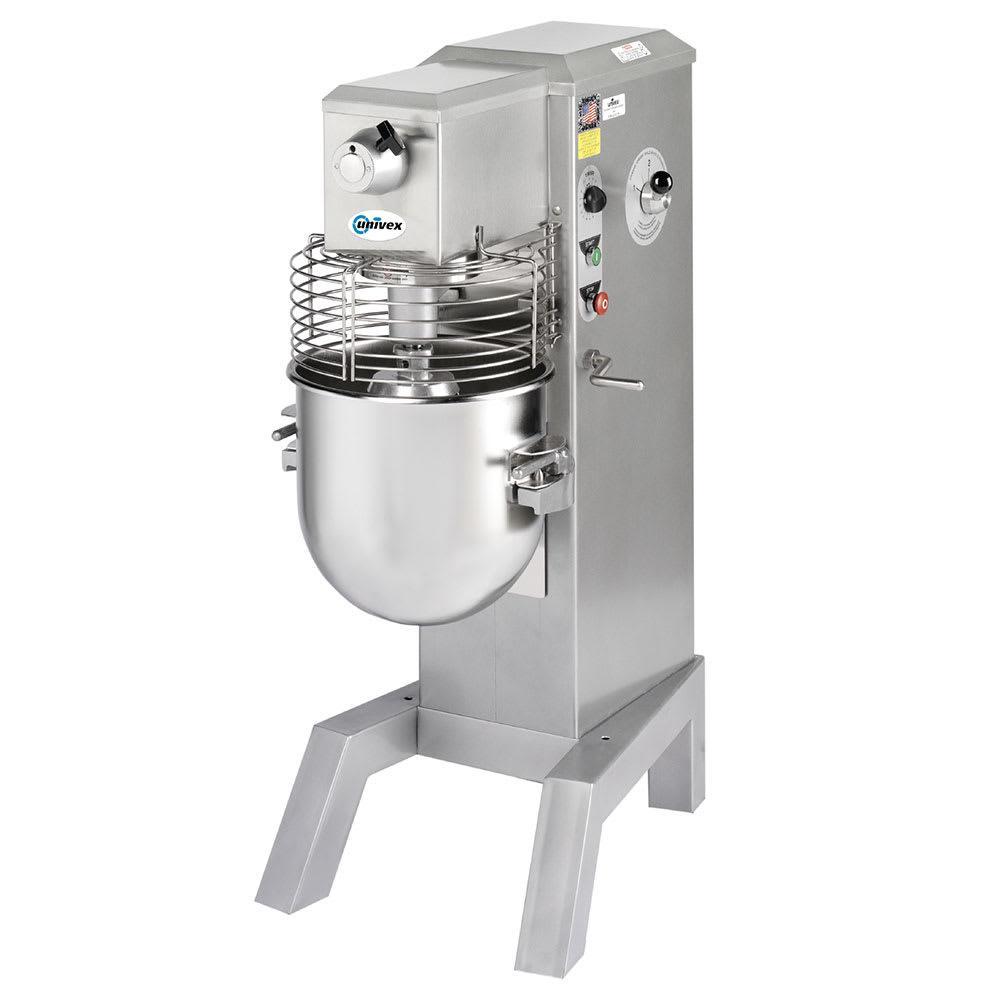 Univex SRM30+ 30-qt Floor Mixer w/ Variable Speed Drive, 1-HP, 115v