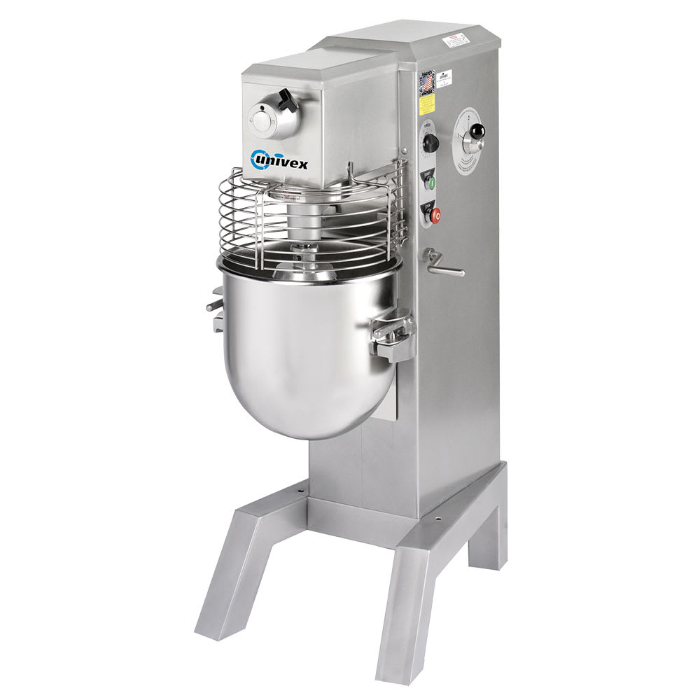 Univex SRM40+ 40 qt Planetary Mixer - Floor Model, 1 hp, 115v