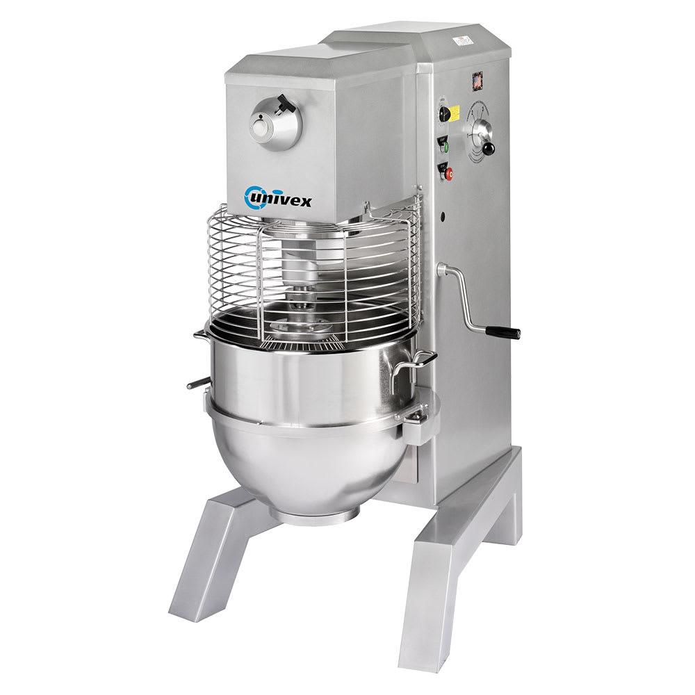 Univex SRM80+ 80 qt Planetary Mixer - Floor Model, 3 hp, 208-240v, 1ph