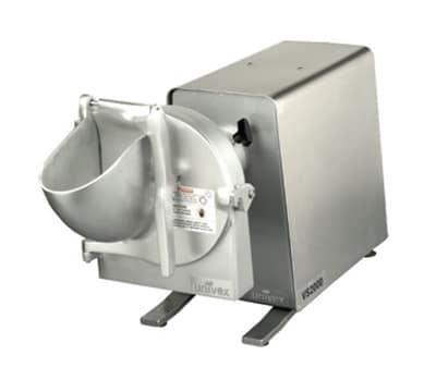 Univex VS2000 115HFR High Volume Vegetable Slicer/Shredder w/Drive Unit, 115/1, Red