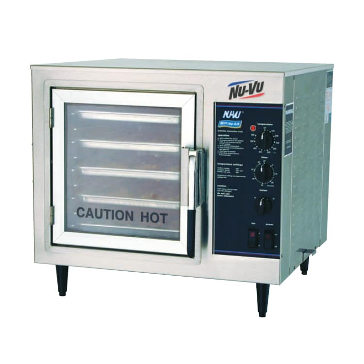 Nu-vu XO-1M Half-Size Countertop Convection Oven, 208v/1ph