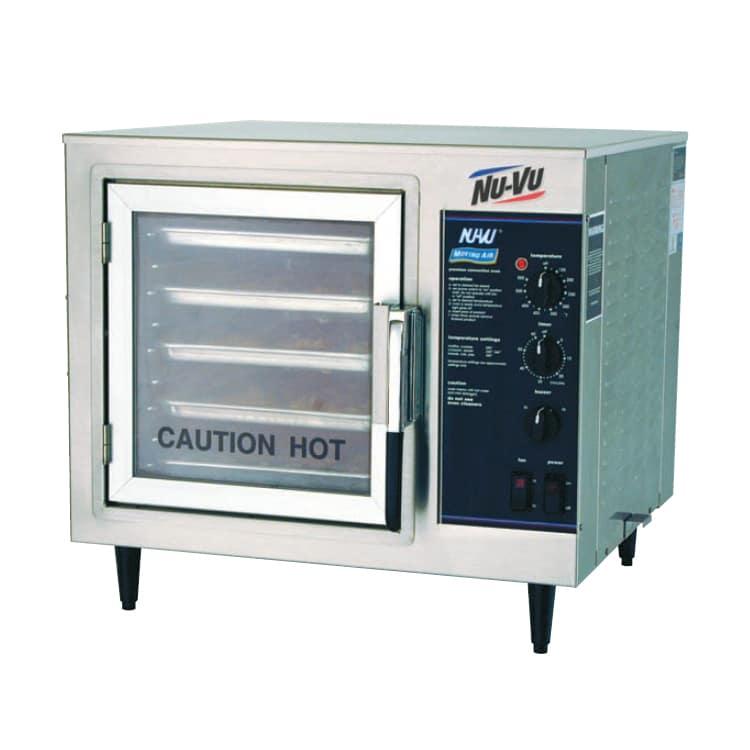 NU-VU XO-1M Half-Size Countertop Convection Oven, 208v/1ph