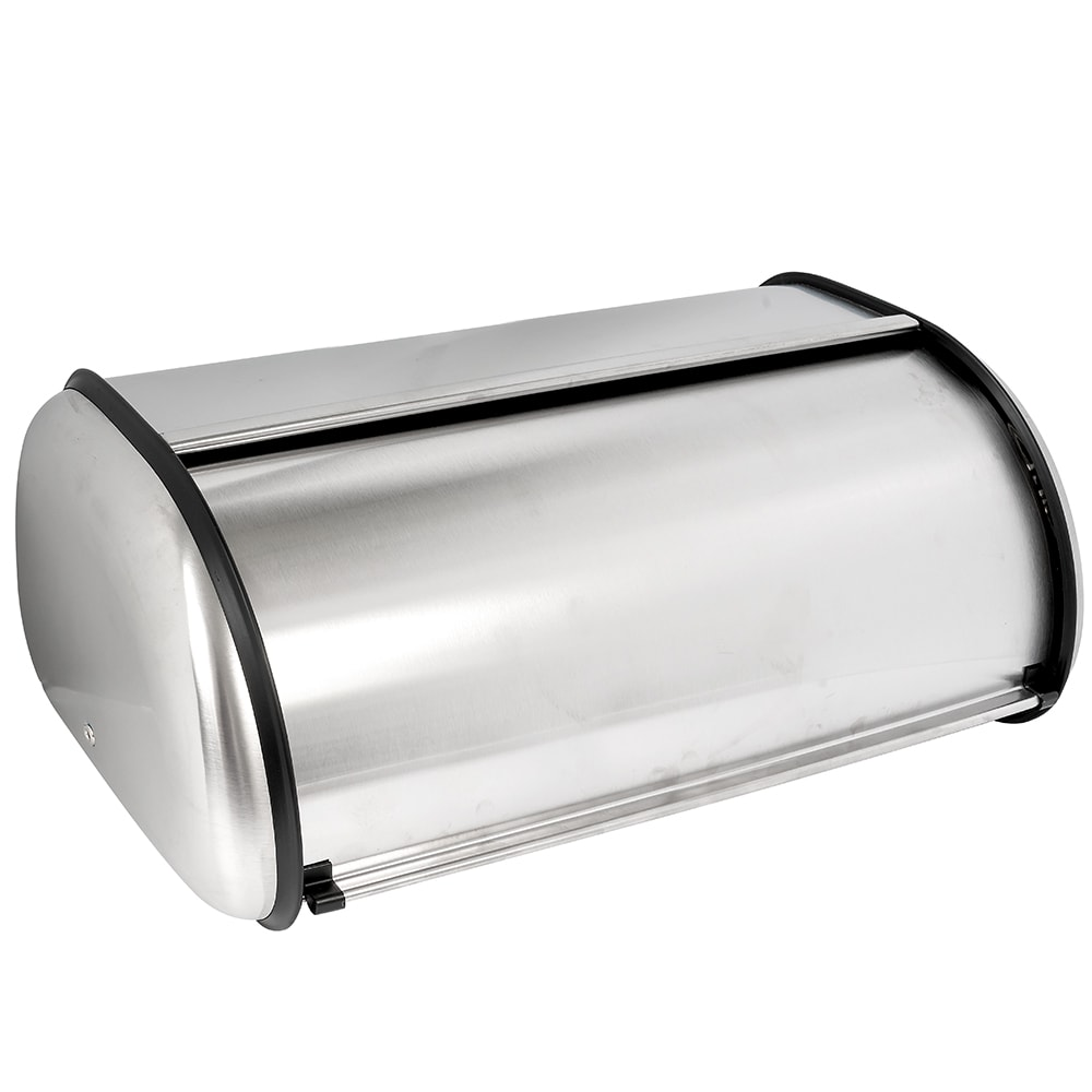 Anchor 08994MR Bread Box w/ Euro Design, Brushed Steel