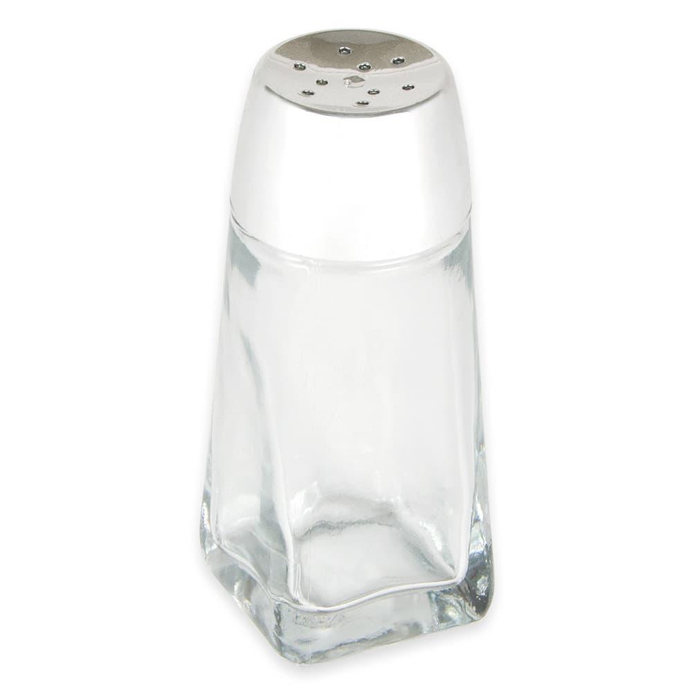 "Anchor 16U 4.25"" Shaker fo Salt/Pepper - Plastic Lid, Paneled"
