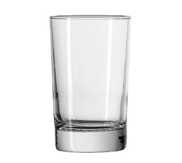 Anchor 3166U 6 oz Heavy Base Split Glass, Crystal