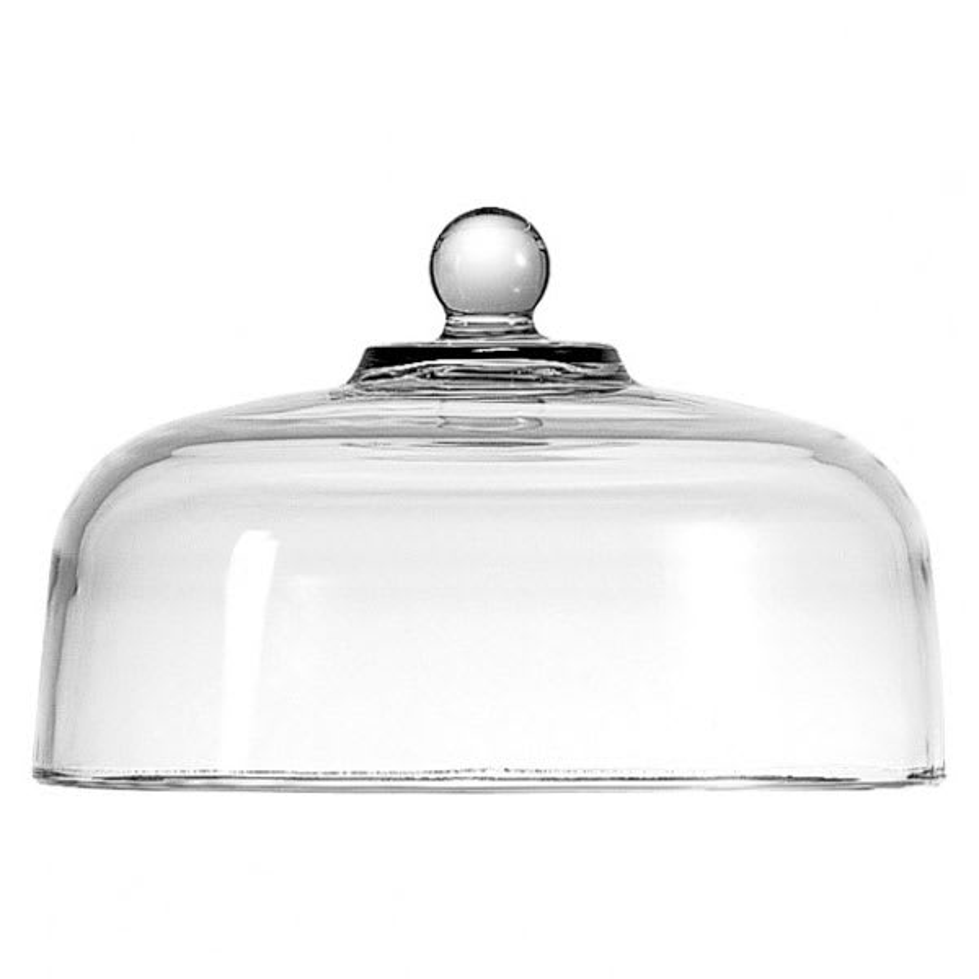 "Anchor 340Q 11.25"" Sure Guard Glass Cake Dome"
