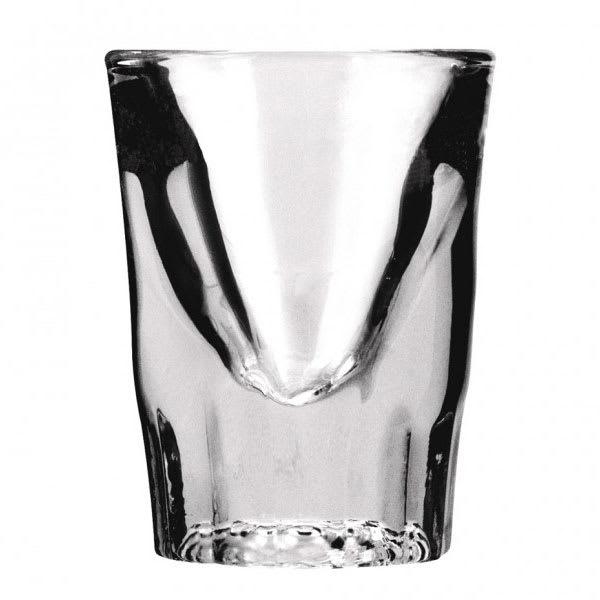 Anchor 5280VU Fluted Whiskey Shot Glass, 1 1/4 oz