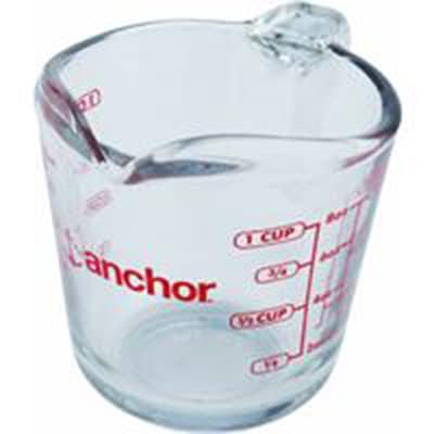 Anchor 55175OL11 8 oz Measuring Cup w/ Open Handle